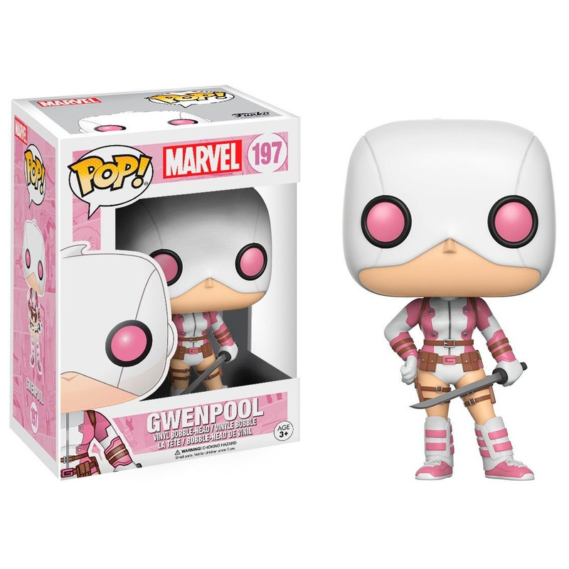Gwenpool Pop Funko - Marvel Stylized Bobble-head Series