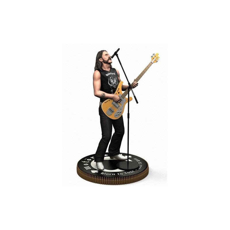Estátua Lemmy Kilmister Knucklebonz - Rock Iconz Statue
