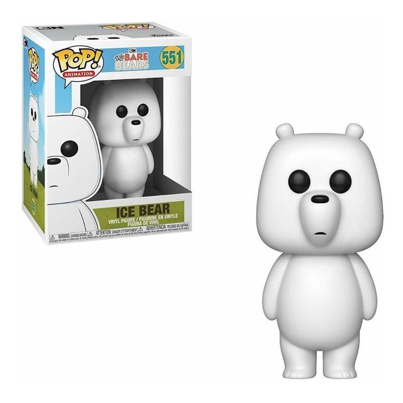 Ice Bear Pop Funko #551 - We Bare Bears - Animation