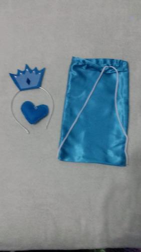 Kit Festa Frozen/ 12 , Coração E Mochilinha Original