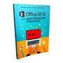 Livro Microsoft Office 2016 Word Excel Power Point Internet