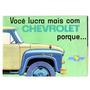 Folder Propaganda Caminhão Chevrolet Brasil Anos 60