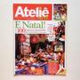 Revista Ateliê Na Tv Natal Bandeja Árvore Em Feltro Nº76