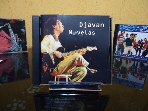 Cd  Djavan - Novelas - By Trekus Vintage Original