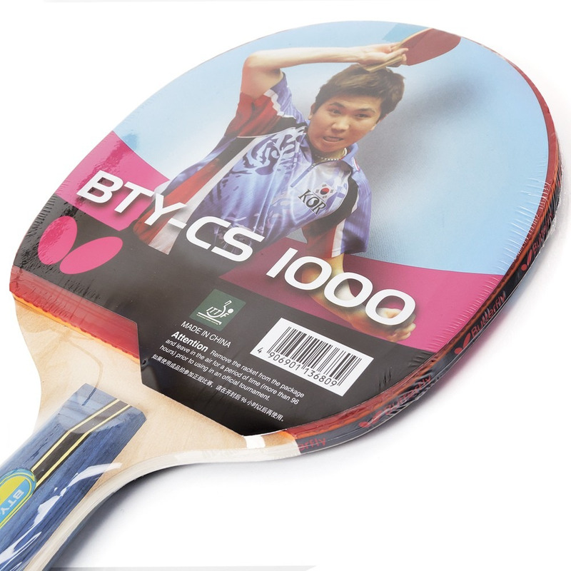 Butterfly Raquete Tenis Mesa Bty Cs 2000 Pan Asia 2.0mm
