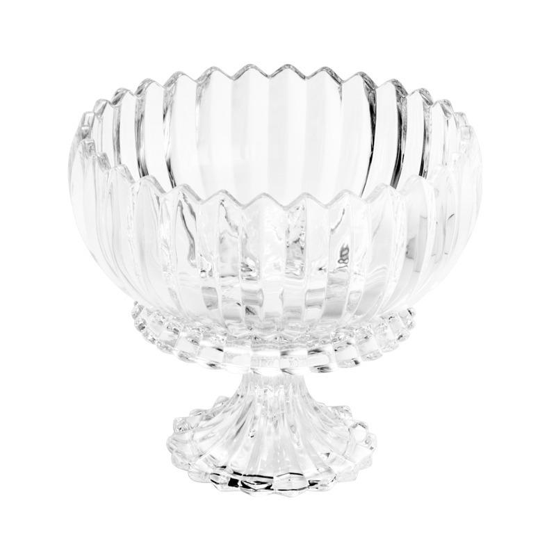 Bomboniere De Cristal com Pé Geneva - Wolff 31025850