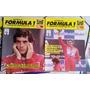 Lote De Revistas História Da Fórmula1 ayrton Senna 1988/1991