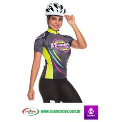 Camiseta Feminina Dunas Ciclismo Basi...