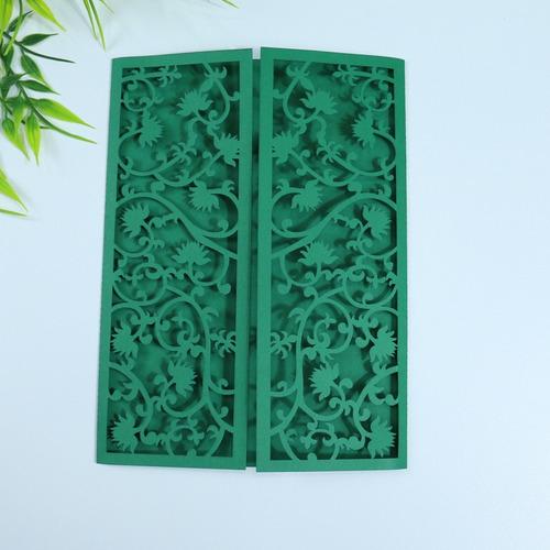 50 Envelopes Para Convites Portão De Flores Original