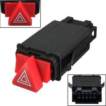 Botão Reparo Chave Pisca Alerta Audi A3 A4 A6 A8 10 Pinos