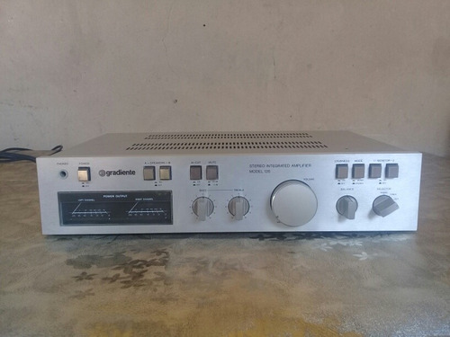 Amplificador Gradiente 126 Excelente Estado E Original.