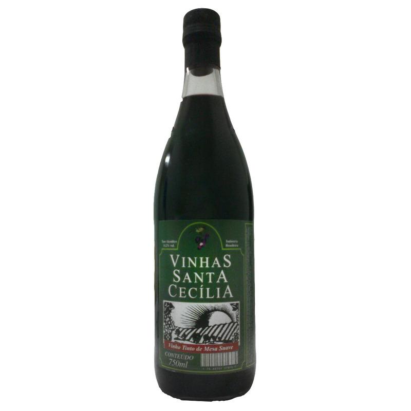 Vinho Tinto Suave Izabel/Bordô 750ml - Sta Cecília