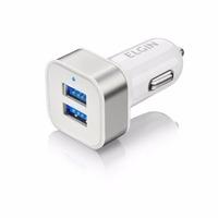 Carregador USB Veicular Elgin 2 Saídas