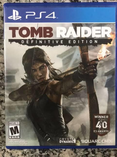 Tomb  Rider Definitiva Edition    Mídia Física Original