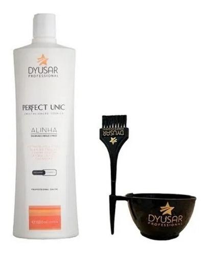 Escova Progressiva Perfect Unic 1 Litro Dyusar + Brinde Original