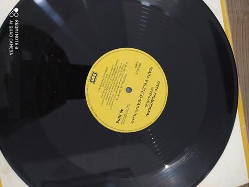 Lp Mara 1992 Direito Da Criança Single 33 E 45rpm Exx Estado Original