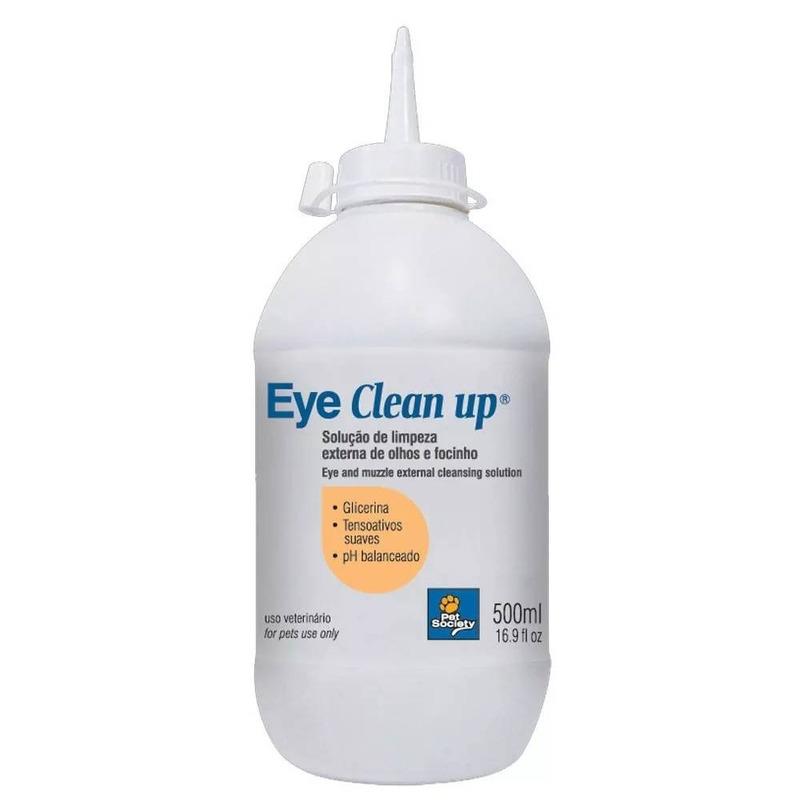 Eye Clean Up (Limpeza Olhos e Focinho) 500ml - Pet Society