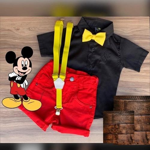 Roupa Menino Infantil Tema Mickey Original