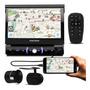 Dvd Player Pósitron Sp6730dtv 7 Polegadas Retrátil Bluetooth Espelhamento Tv Usb Aux Sd Fm Mp3 Câmera De Ré 2 Em 1