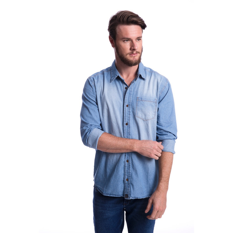 Camisa Jeans Long Island