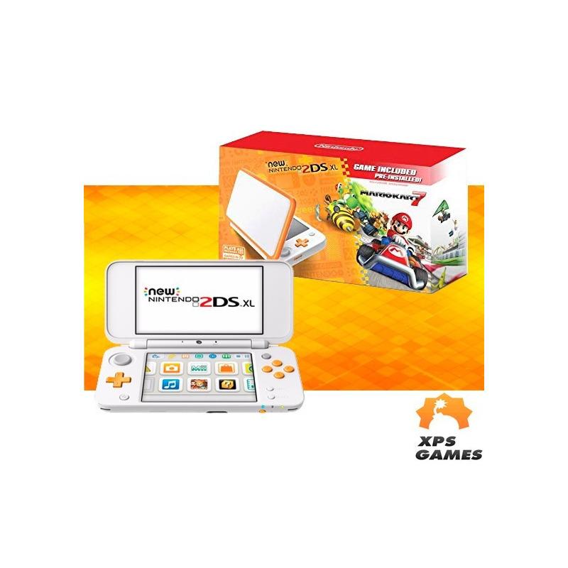 Nintendo New 2ds Xl - Branco e Laranja
