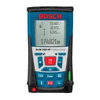 Medidor de Distância a Laser Bosch GLM 250 VF