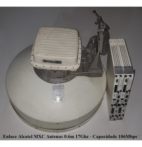 Radio Enlace Alcatel 9500 Mxc - 18ghz Completo 106mbps Original