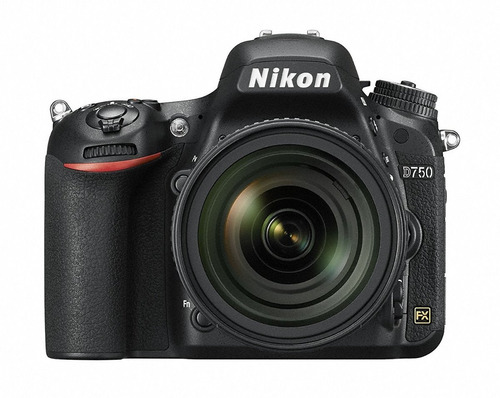 Câmera Nikon D750 24.3mp C/ 24-85mm Full Frame 12x S/juros Original