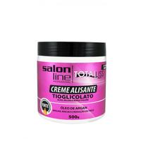 Creme Alisante Oléo Argan Forte Pote 500 GR - Salon Line