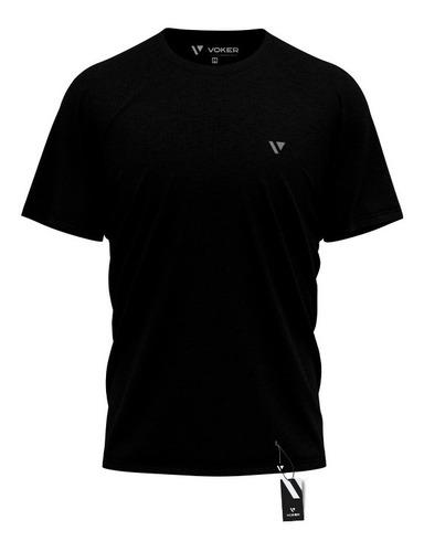5 Camiseta Masculina Camisas Slim Voker 100% Algodão Atacado Original