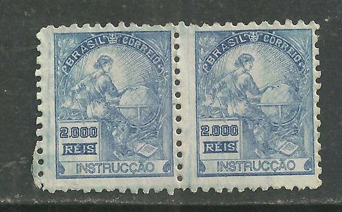 1934/1936 - Vovó 2000 Réis - Par Sem Filigrana - Rhm 294 Es Original