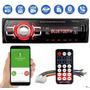 Aparelho De Som Carro Automotivo Bluetooth Pendrive Rádio Sd