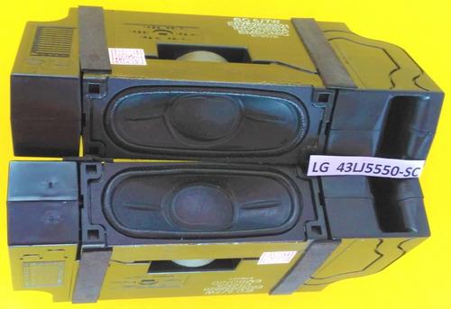 Par Alto Falante Tv LG 43lj5550 43lj5500 49lj5500 C/nf Original