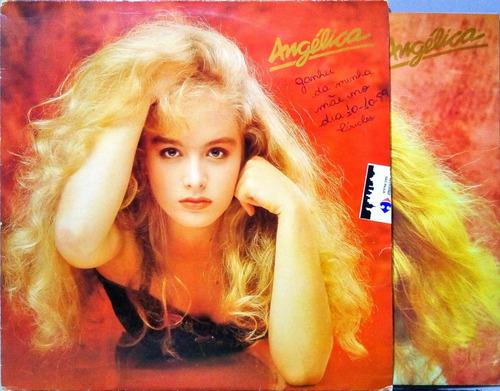 Angelica Lp 1989 O Calhambeque + Encarte Lp 10541 Original