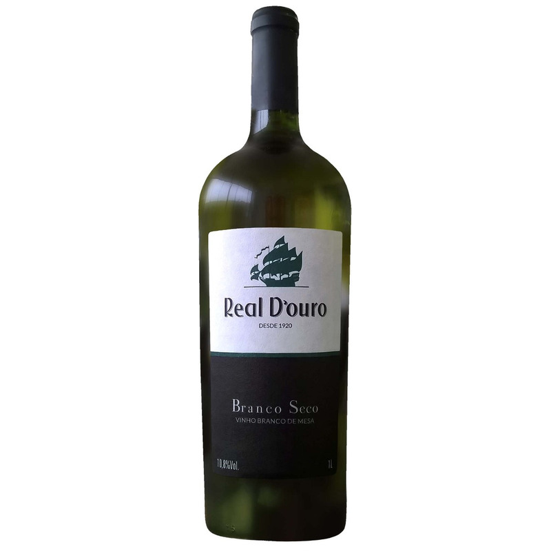 Vinho Branco Seco 1L - Real D'Ouro