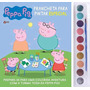 Livro Aquarela Peppa Pig