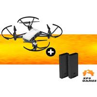 Drone Ryze/Dji Tello + Bateria Extra - Branco