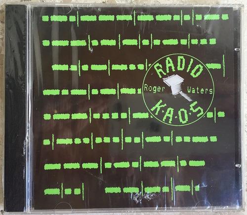 Cd Roger Waters Radio Kaos  Original