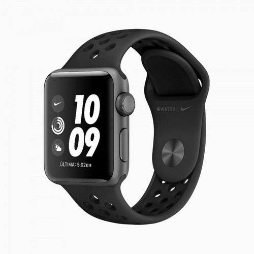 Apple Watch Nike Sport Pulseira Esportiva Cinza Original