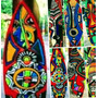 Decore Já. Arte Africana Pranchas Surf Haroldo Lousada.