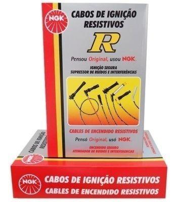 Jogo Cabos Vela Ngk Palio / Uno 1.0 8v ( Motor Fire ) Sct06 Original