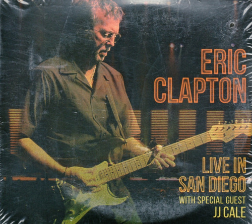 Cd Duplo Eric Clapton - Live In San Diego With Jj Cale Original