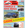 Quatro Rodas Nº355 Monza 500ef Uno 1.6r Santana Gls Gol 1.8