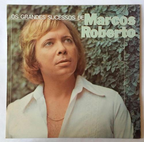 Disco/lp Marcos Roberto-o Grandes Sucessos De-1981 Original