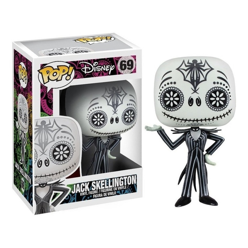 Jack Skellington Day of the Dead Pop Funko #69 - O Estranho Mundo de Jack - Disney