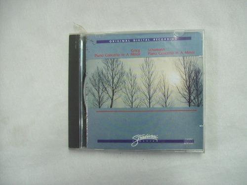 Cd Grieg Concerto In A Minor / Schumann Concerto In A Minor Original
