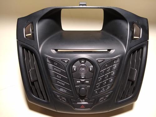 Painel Teclado Comando Som Ford Focus Titanium 2013 Original