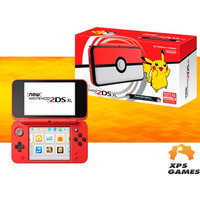 Nintendo New 2ds Xl - Pokeball Edition + 40 Jogos Instalados