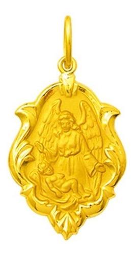 Medalha 46 Imagens De Santos Disponível Ouro 18k  T2 -f 20mm Original