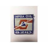 Patch / Distintivo Bordado Defesa Civil - I - U